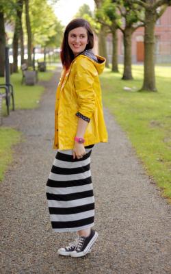 Желтый женский плащ дождевик фото 31