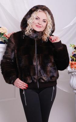 Женская норковая куртка фото 10