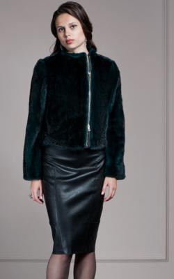 Женская норковая куртка фото 12