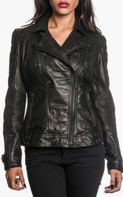 модные байкерские женские куртки фото 3