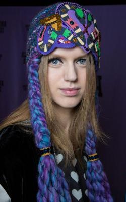 Женские вязнаые шапки фото 2