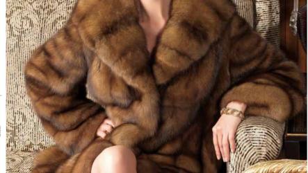Женские шубы из натурального меха: фото, тренды осень-зима 2021-2022