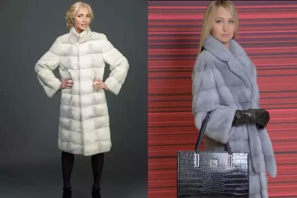 Модные модели норковых шуб 2019