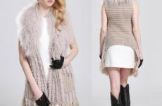 Шуба из вязаной норки: модный тренд или теплая одежка?