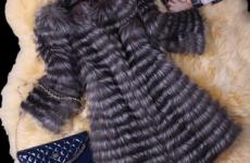 Шубы из чернобурки: модные модели сезона