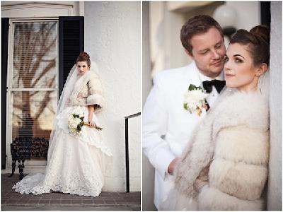 Фото свадебных шуб