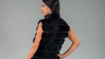 Жилетки из нутрии: как подобрать гардероб
