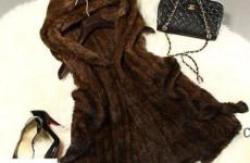 С чем носить жилет из вязаной норки в 2019 году?