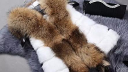 Меховые жилетки из кролика: тепло и комфорт