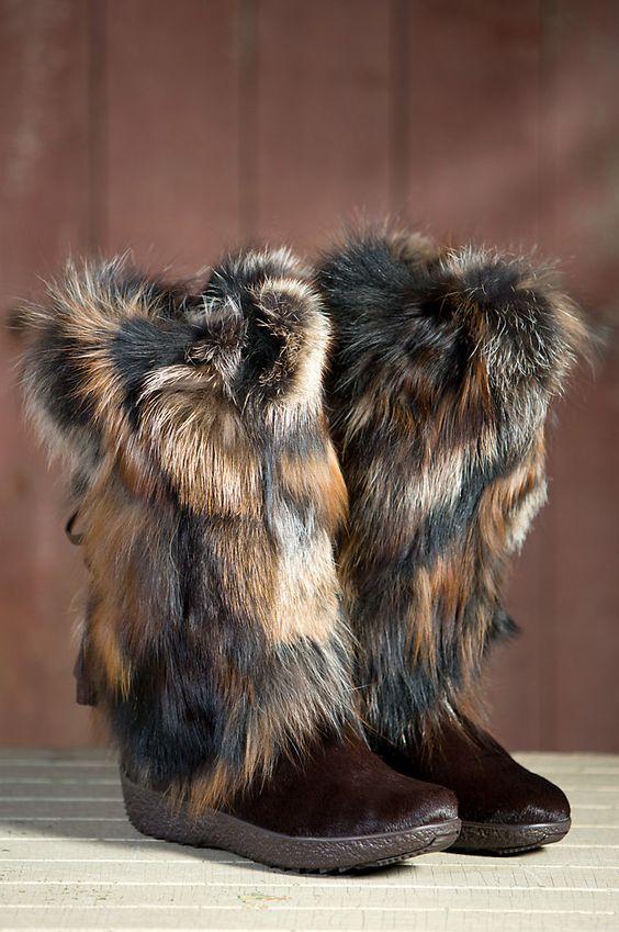 Тапочки из меха своими руками фото 781