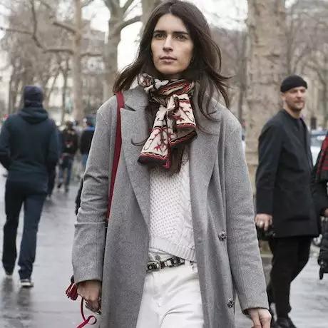 Как красиво завязывать шарф на пальто