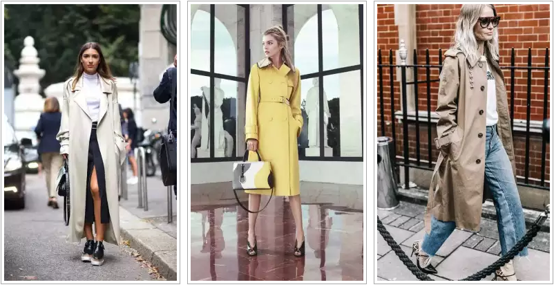 модные плащи 2017