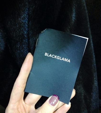 Blackglama паспорт