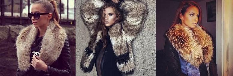 Зимняя куртка с мехом фото