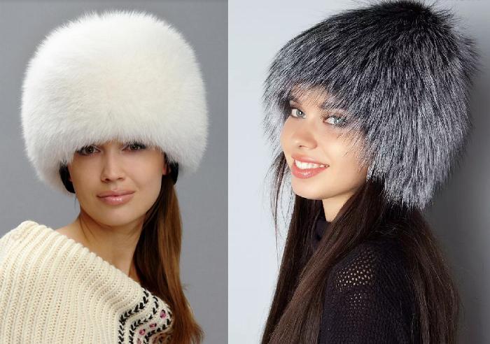женские шапки зима 2018-2019
