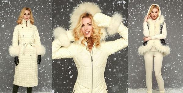 мода женские пуховики зима 2018 2019