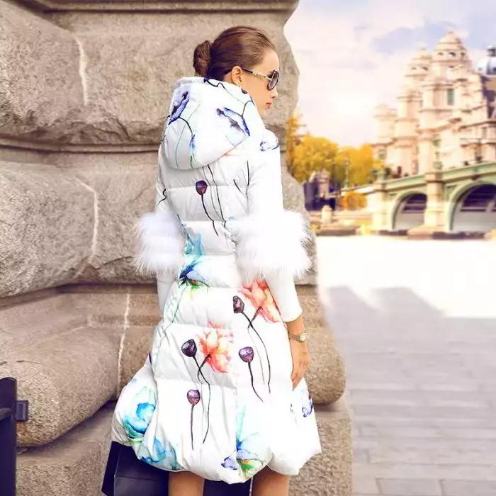 Модные женские пуховики на осень и зиму года