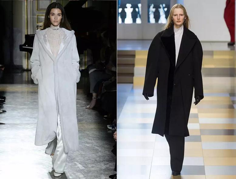 Комбинированные пальто 2018