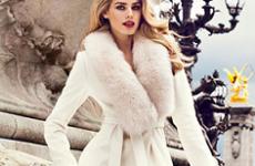 Модные зимние пальто с мехом 2018
