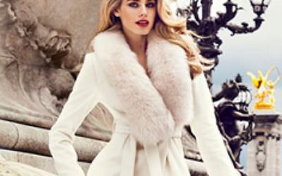 Модные зимние пальто с мехом 2019