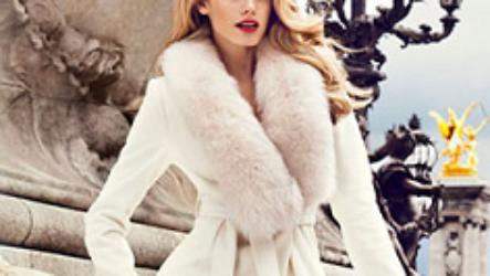 Модные зимние пальто с мехом 2020