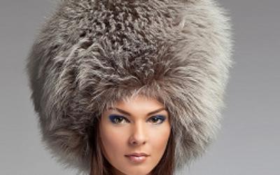 Женские меховые шапки: фото актуальных моделей