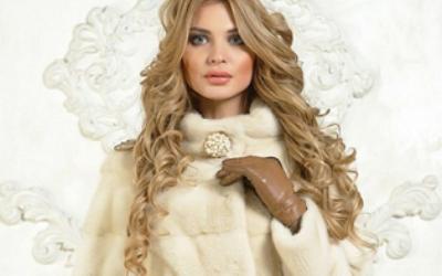 Белая норковая шуба — роскошь достойная восхищения