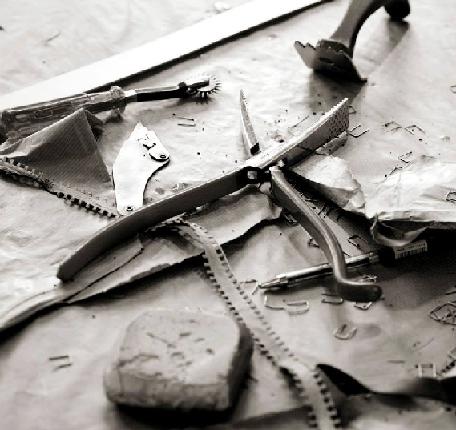 Инструменты для пошива норковых шуб