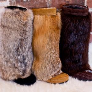 Зимние женские меховые унты 2018: с чем носить, разновидности и модные тенденции