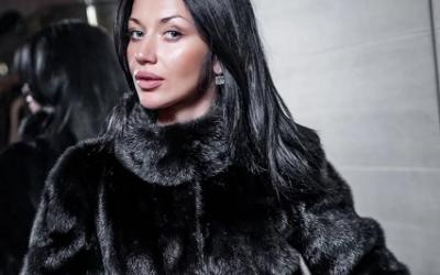Черная норковая шуба: с чем носить черный бриллиант?