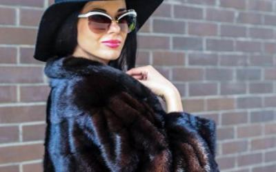 Коричневая норковая шуба: модные модели 2018-2019 года