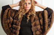 Меховое манто: модные модели 2018-2019 года