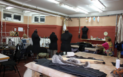 Реставрация меховой и кожаной одежды в ателье