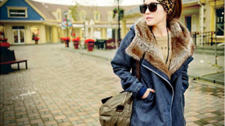 Джинсовая парка с мехом: преимущества и модные образы
