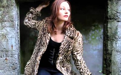 Леопардовая шуба – наряд для смелых модниц