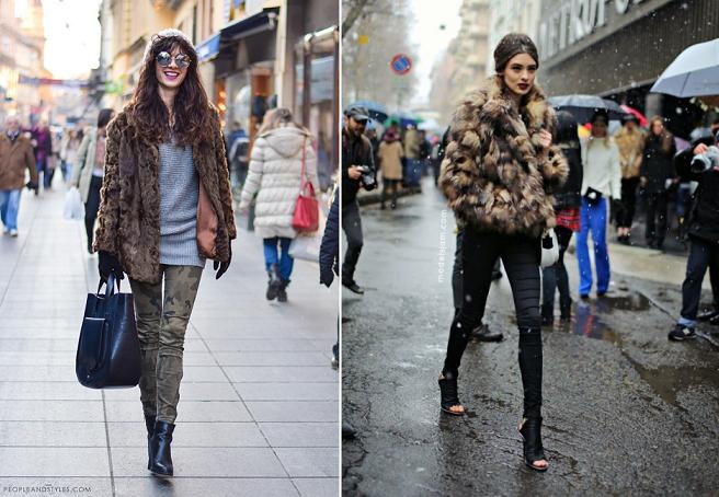 Меховые куртки женские - модели 2018-2019