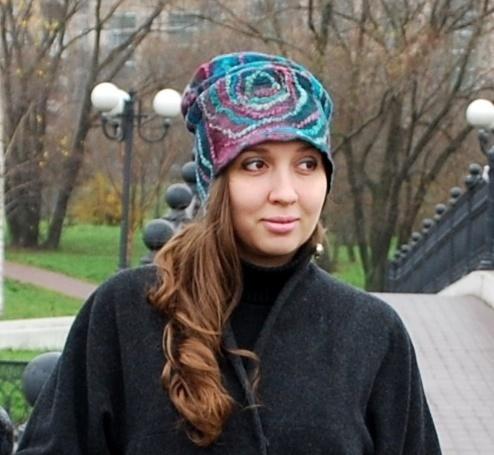 валяные шапки женские