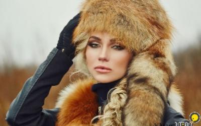 Лисья шапка: фото, модные образы