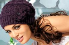 Красивые узоры и модели вязаных шапок (со схемами)