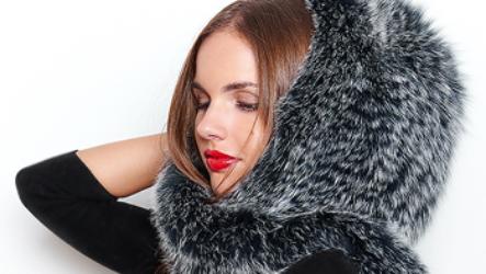 Капор из норки — теплый и практичный головной убор для женщин