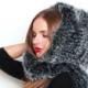 Капор из норки – теплый и практичный головной убор для женщин