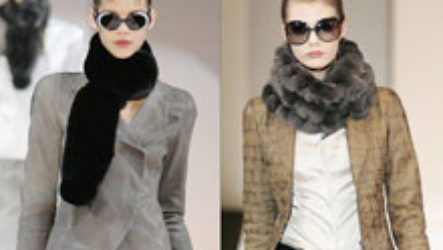 Меховой шарф 2020-2021: самый теплый аксессуар для зимы