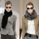 Меховой шарф: самый стильный и теплый аксессуар для зимы