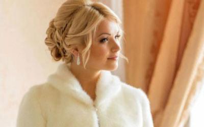 Свадебная шубка для невесты