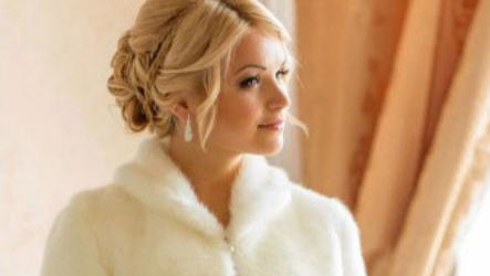 Свадебная шубка — 100 моделей 2021-2022 года