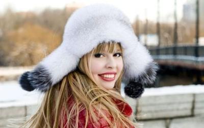 Женская шапка-ушанка: фото обзор моделей