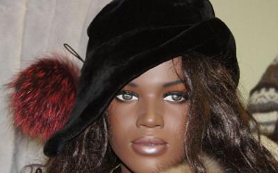 Какой формы бывают женские норковые шляпки и с чем их носить