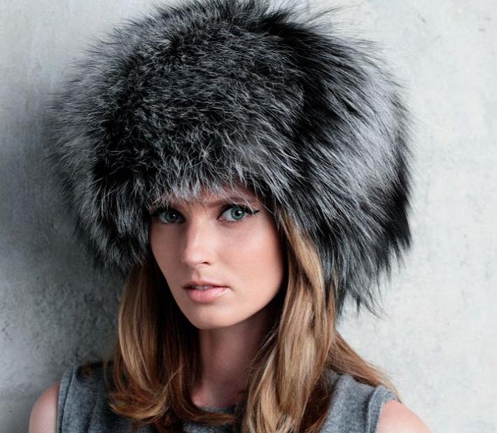 Фото шапки кубанки из чернобурки