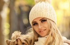 Молодежные шапки для девушек: модели 2018-2019