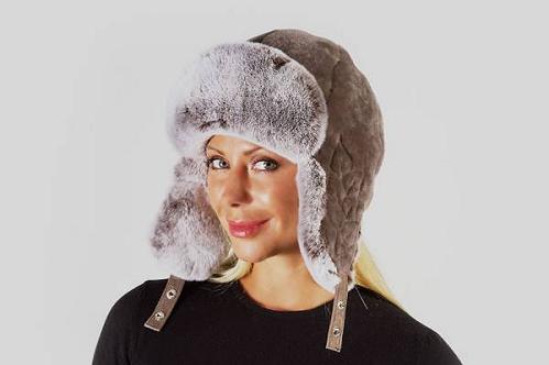 шапка ушанка из мутона фото